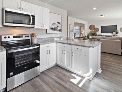 Model home kitchen by Century Complete