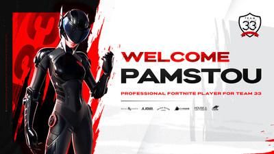 PaMstou joins Team33