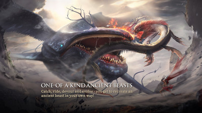 One-of-A-Kind Ancient Beasts (CNW Group/Chimeraland)