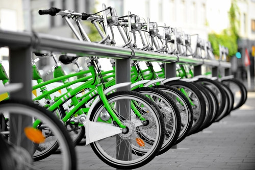 Global Micro-mobility Market to Thrive with Bike-sharing Set to Dominate by 2025 (PRNewsfoto/Frost & Sullivan)