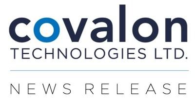 Covalon Technologies Ltd. Press Release (CNW Group/Covalon Technologies Ltd.)