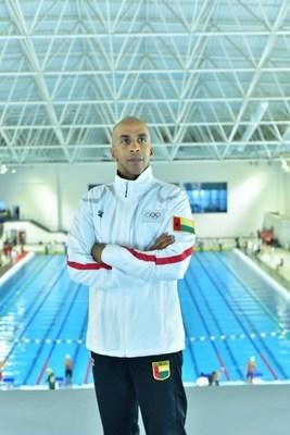 Siphiwe Baleka at June 26, 2021 Egyptian National Swimming Championships