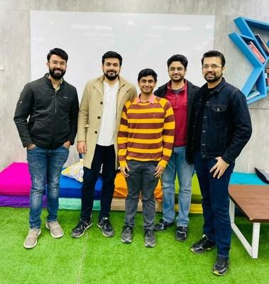 Shipsy Founding Team (L to R: Sahil, Dhruv, Himanshu, Soham, Harsh)