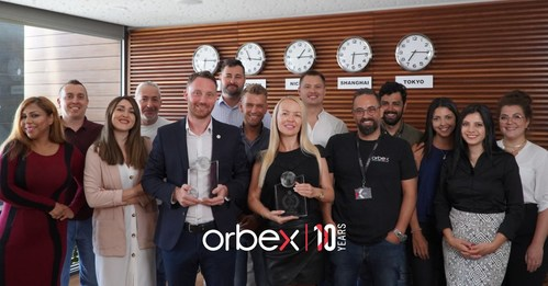 "Orbex Obtains ""Decade of Excellence Award"""