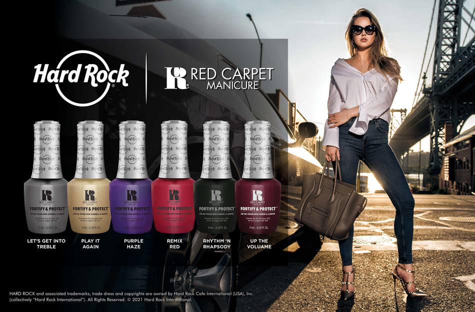 Hard Rock International Partners With Red Carpet Manicure For Exclusive ULTA Beauty Deal