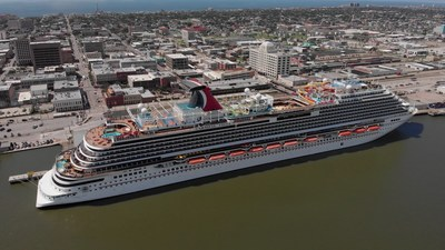 Carnival Cruise Line Kicks Off Its First Cruise From The U.S. With Carnival Vista Sailing From Galveston This Afternoon