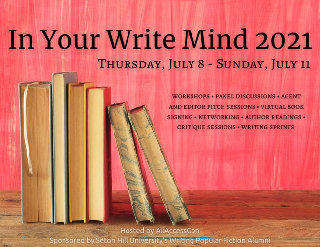 In Your Write Mind 2021 Workshop Official Banner