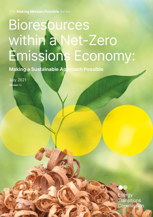 Bioresources within a Net-Zero Emissions Economy - new report from ETC