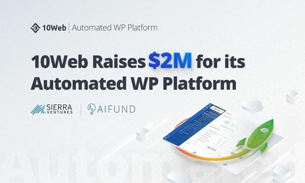 10Web Raises $2M