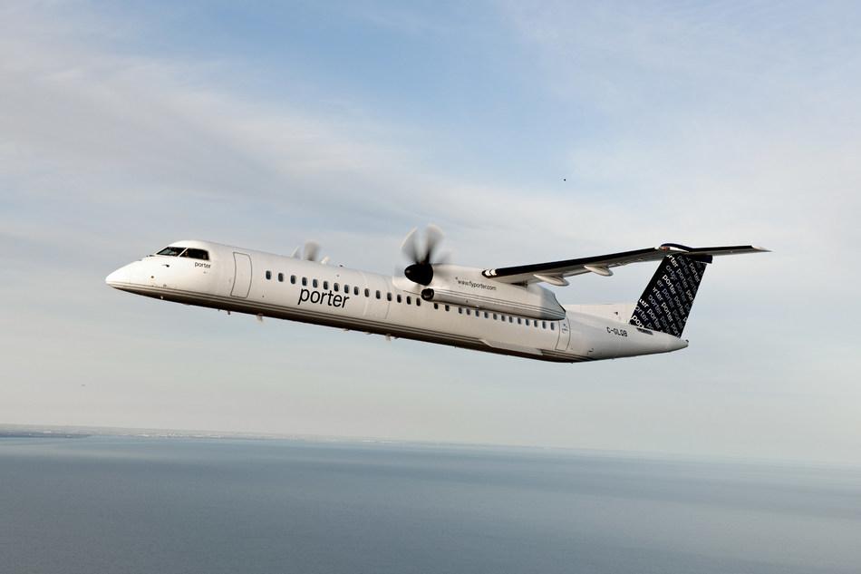 U.S. flights start on September 17 (CNW Group/Porter Airlines)