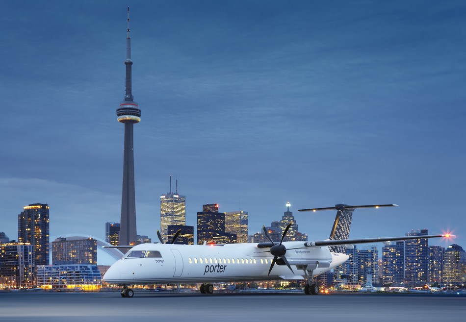 Porter Airlines confirms restart of service to select Canadian destinations beginning Sept. 8 (CNW Group/Porter Airlines)