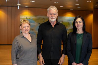 Authors on the paper, Valgerdur Steinthorsdottir, Kari Stefansson and Thorhildur Juliusdottir