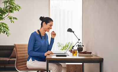 Sony's SRS-NB10 Wireless Neckband Speaker, the Ultimate Work-From-Home Companion