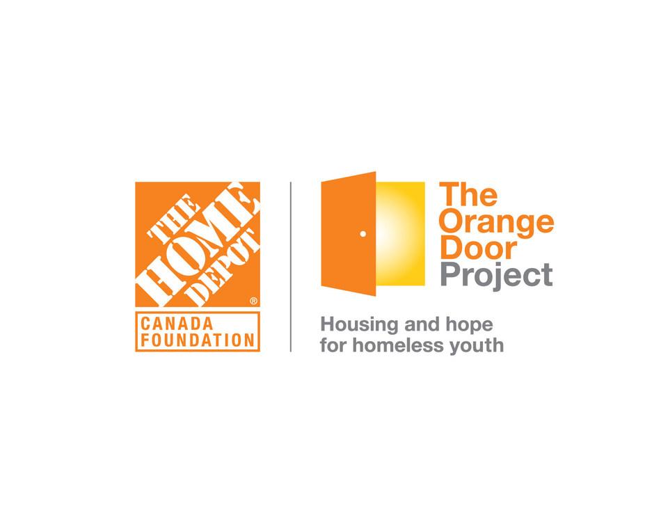 The Orange Door Project logo (CNW Group/Dans la rue)