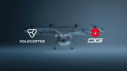 Volocopter acquires DG Flugzeugbau ©Volocopter