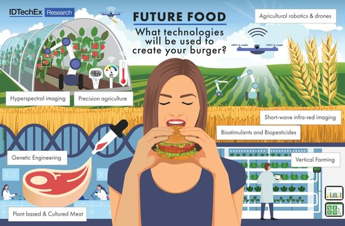Creating a burger with future food technologies