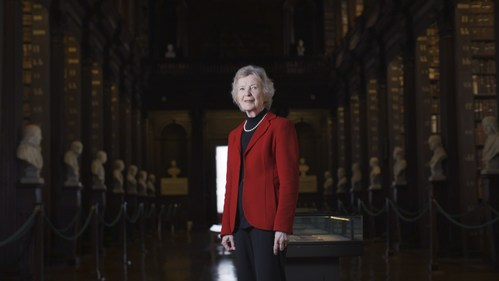 Mary Robinson – former President of Ireland and Chair of the Elders