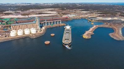 Port de mer de Port-Cartier, ArcelorMittal Infrastructure Canada s.e.n.c. (Groupe CNW/ArcelorMittal Exploitation minière Canada s.e.n.c.)