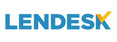 Lendesk logo, announced as part of the FoC on April 24, 2019 (PRNewsfoto/Lendesk)