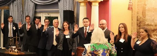 Caitlin Szematowicz, partner of Battaglia, Ross, Dicus & McQuaid, P.A., was recently sworn in as President of the Barney Masterson American Inn of Court.