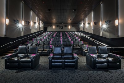 布伦特伍德Cineplex VIP电影院今天在本纳比开业!