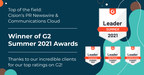 PR Newswire, Cision Communications Cloud rank among best,...