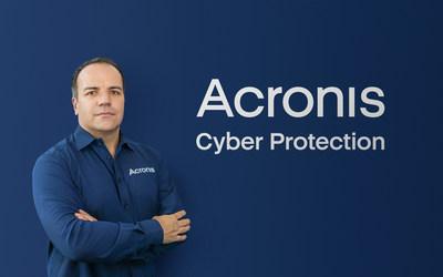 Acronis' new CEO, Patrick Pulvermueller