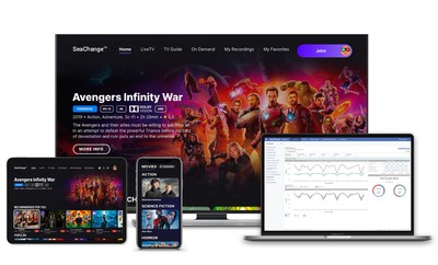 """SeaChange International' Introduces """"StreamVid"""" Cloud-Based OTT Platform to Help Operators and Content Owners Manage and Optimize their Streaming Businesses."""