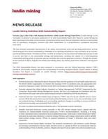 Lundin Mining Publishes 2020 Sustainability Report (CNW Group/Lundin Mining Corporation)