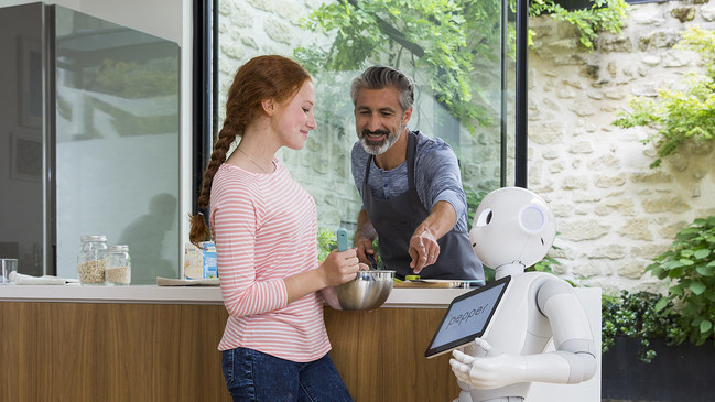 Pepper Robot Coffee Shop Small Business
