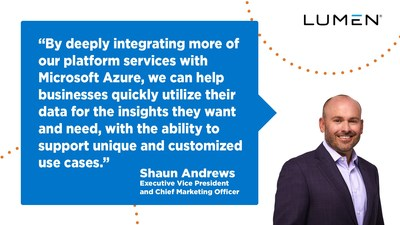 Lumen is reshaping enterprise application delivery with Microsoft