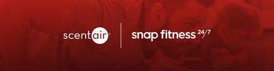ScentAir e Snap Fitness lançam parceria global!