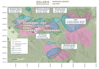 Figure 3 – Plan View (CNW Group/Solaris Resources Inc.)