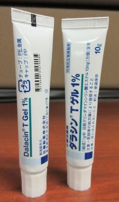 Gel Dalacin T 1 % Gel antibactérien contre l'acné (Groupe CNW/Santé Canada)