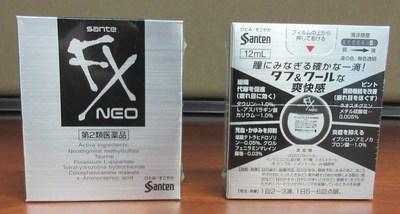 Santen Sante FX Neo (emballage argent) Gouttes oculaires (Groupe CNW/Santé Canada)