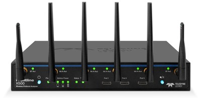 Frontline X500 - First Single-system Protocol Analyzer for Bluetooth® Technology and Wi-Fi 6E