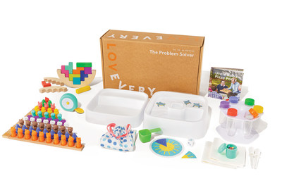 The Problem Solver | Months 43-45 | Your 3-year-old is naturally curious and wants to experiment with everything they encounter. The Problem Solver focuses on collaboration and STEM activities, as your child learns about measurement, color mixing, categorizing, and more.