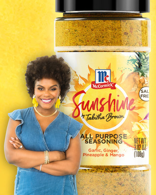 Tabitha Brown Partners with McCormick® to Release an Exclusive New Seasoning Just in Time for Summer 2021
