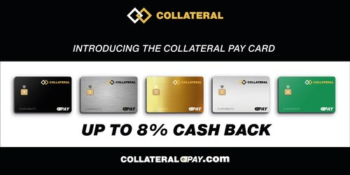 Introducing the Collateral Pay Debit Card: Buy now, repay later, keep the crypto