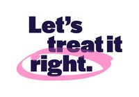 Let's treat it right Logo