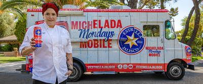 Estrella Jalisco launches the Classic Michelada and announces 'Michelada Mondays' in partnership with Tastemade and Chef Maria Mazon, offering fans a chance at a paid day off, plus a Michelada feast.