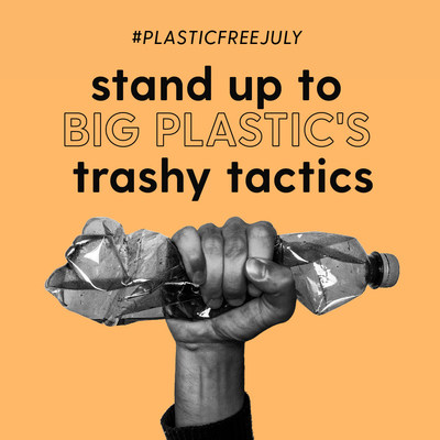 Stand up to Big Plastic. (CNW Group/Environmental Defence)