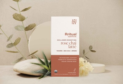 Rritual Superfoods Rose Chai Latte (CNW Group/Rritual Superfoods Inc.)