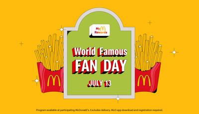 World Famous Fan Day