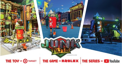 JUNKBOTS metaverse expands with new 8 part digital series and Roblox game (CNW Group/HEXBUG)