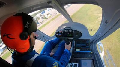 Avion électrique 2X de Volocopter. Cliquez ici pour télécharger l'image en haute résolution. Droits d'auteur Volocopter. (Groupe CNW/CAE INC.)