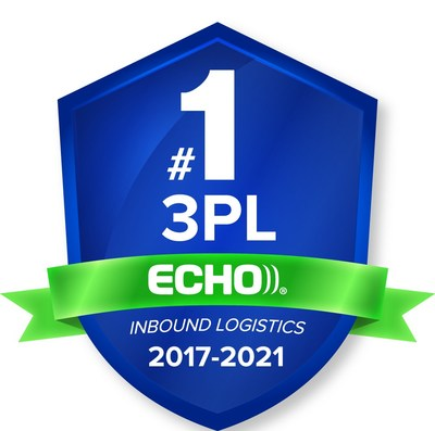 Echo Global Logistics was voted the #1 third-party logistics provider (3PL) for the fifth year in a row in Inbound Logistics' Top 10 3PL Excellence Awards.
