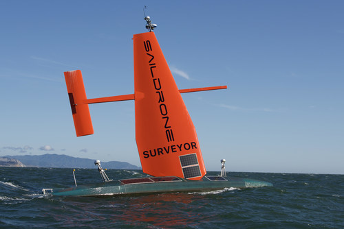 The 72-foot Saildrone Surveyor, the world's most advanced autonomous ocean mapping vehicle, has completed its groundbreaking maiden voyage from San Francisco to Hawaii.