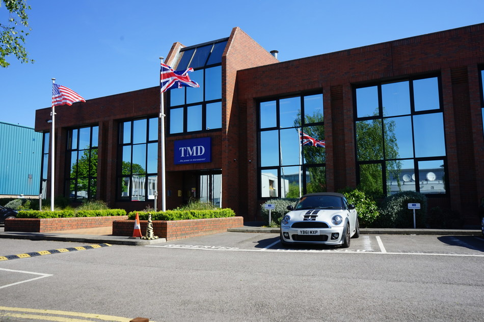 Communications & Power Industries (CPI) acquires TMD Technologies, a world-class designer and manufacturer of professional microwave and radio frequency products with facilities in the United Kingdom and the United States
