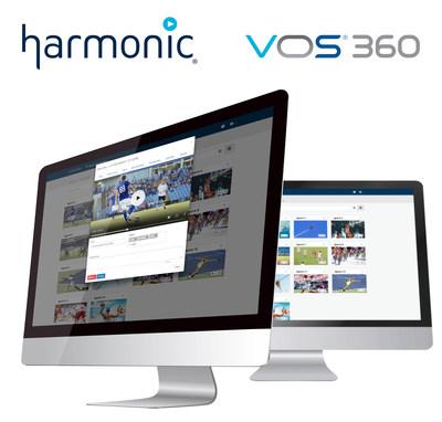 Harmonic VOS®360 Cloud Streaming Platform
